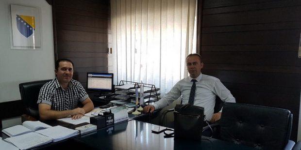 Ministar Čolaković boravio u Tešnju i Doboj-jugu