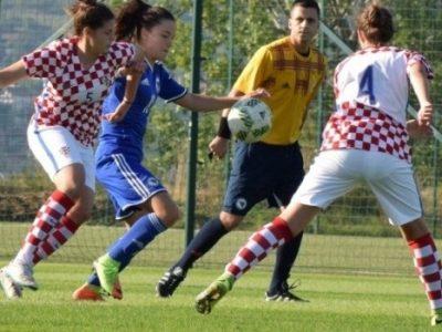 Ženske kadetske reprezentacije: BiH-Hrvatska 2:1