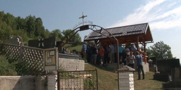 Spomen na prvog poginulog pripadnika HVO-a u Zenici