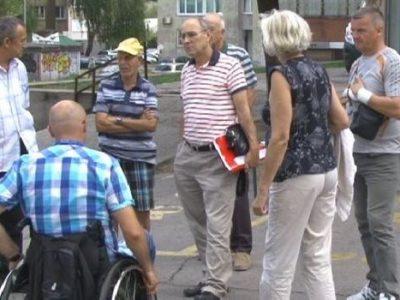 Udruženje invalida rada ne može do svojih prostorija
