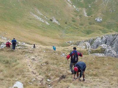 Članovi PD Željezara savladali uspon na Maglić