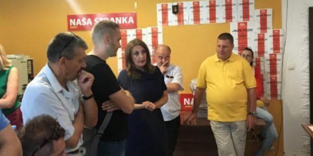 Nova predsjednica Naše stranke u Zenici Meliha Salčinović