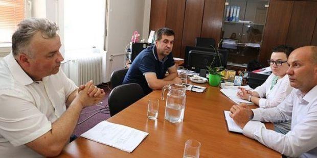 U sjedištu Gradske uprave o sudbini NK Čelik