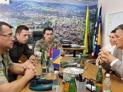 Šef Turske vojne misije u posjeti Zenici