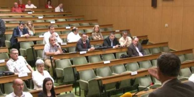 Sjednica Gradskog vijeća nije održana zbog nedostatka kvoruma