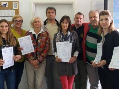 Dodijeljeni certifikati za polaznike obuke iz znakovnog jezika