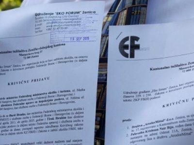 Eko forum Zenica: Dvije godine od tužbi