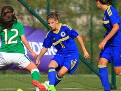 Pobjeda ženske bh. U-17 reprezentacije nad Grčkom (1:0)