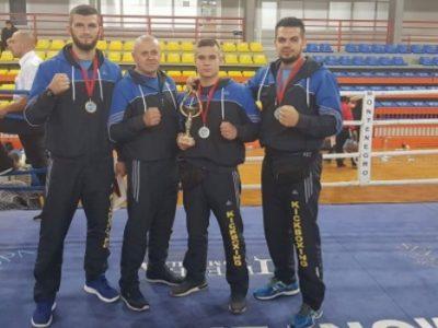 Odlični rezultati Zeničana na Balkanskom prvenstvu u kik boksu