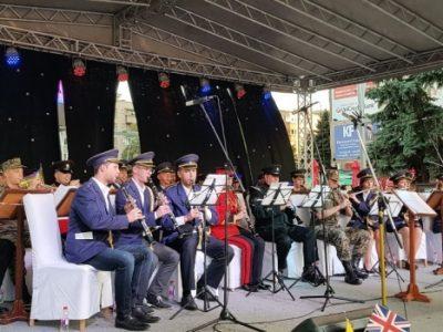 Britanski vojni orkestar CAMUS nastupio u Zenici