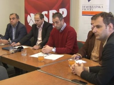 SDP i DF: Smjena Sanje Renić je orkestrirani uvod u krizu vlasti