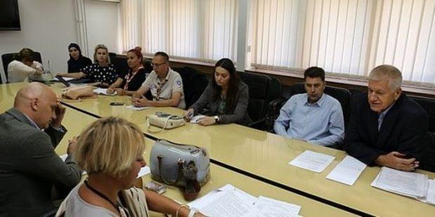 Održan sastanak o Projektu smanjenja faktora zdravstvenih rizika