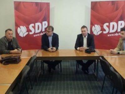 SDP ZDK: Nikšić i Magazinović u Zenici
