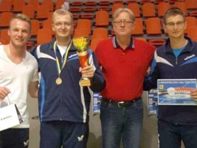 Odigran 4. Međunarodni Zenica Table Tennis Open