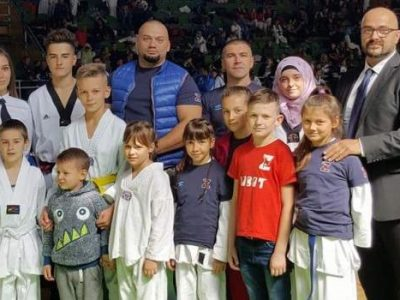 Taekvando klub Zenica: Osam takmičara – sedam medalja