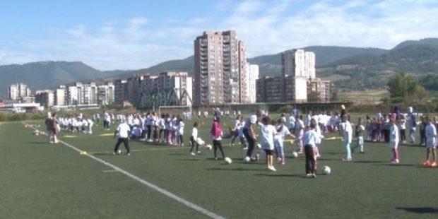 Otvorena Zabavna škola fudbala na Kamberovića polju