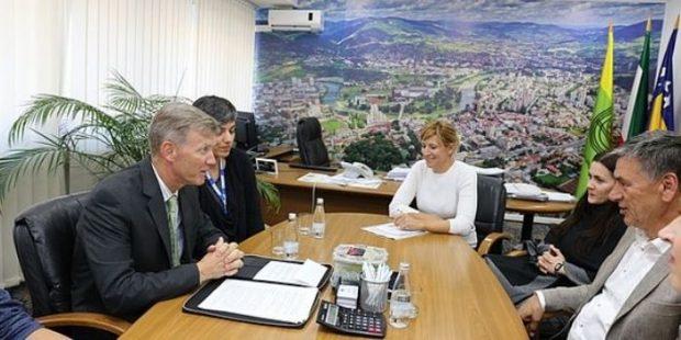 Šef Misije OSCE-a u BiH posjetio Gradsku upravu