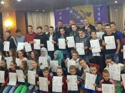 Taekwondo Akademija Jale uručila certifikate za 46 novih majstora