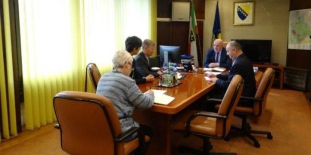 Novoimenovani šef Misije OSCE-a u BiH u sjedištu ZDK