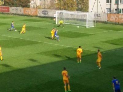 Junioriska nogometna reprezentacija BiH u prijateljskom meču u Zenici porazila Makedoniju