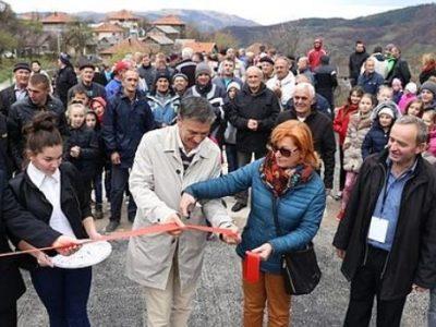 Svečano otvorena rekonstruisana cesta Seoci-Osredak