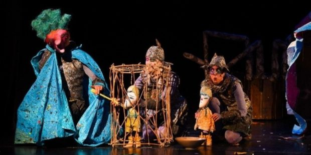 """Nagrađena predstava """"Ivica i Marica"""" izvedena u okviru Dječije nedjelje sa lutkama u Bosanskom narodnom pozorištu"""