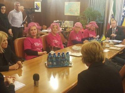 Prijem za članice Udruženja oboljenih od karcinoma dojke Život