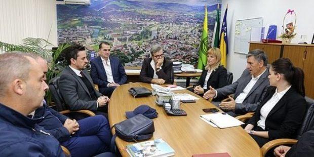 Gradonačelnik razgovarao o gasifikaciji grada sa upravom BH Gasa