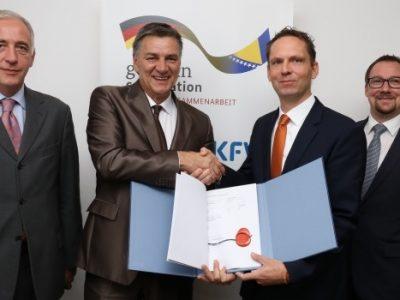 Potpisan Sporazum o finansiranju i projektu Prikupljanje i tretman otpadnih voda u Zenici