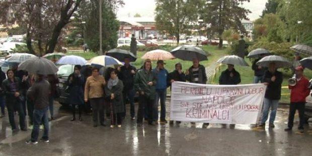 Radnici Željezare Zenica na novom protestu