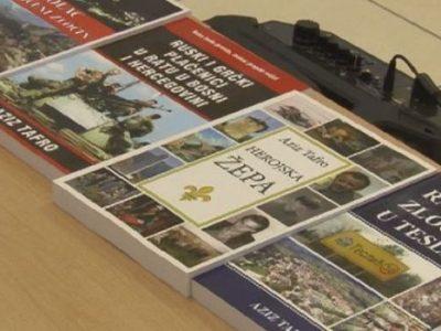 Baton promovisao tri knjige o ratnim zločinima autora Aziza Tafre
