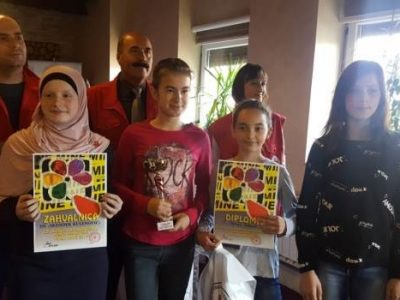 "Crveni krst Zenice organizovao takmičenje ""Misli mine"""