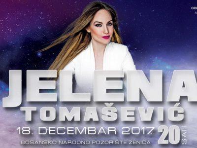 Cabaret Winter Fest: Pop diva Jelena Tomašević u BNP-u