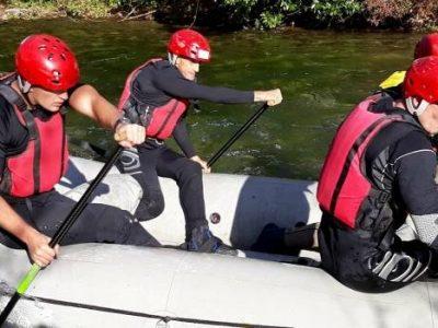 Rafting klub Bosna: Odlična završnica takmičarske sezone