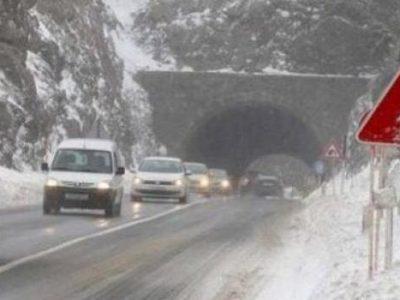 BIHAMK preporučuje opreznu vožnju zbog snijega na kolovozu